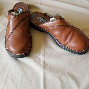 Dr. Scholl's Leather Slide